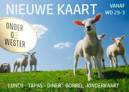 Vanaf woensdag is het weer genieten van de nieuwe kaart :-) Lunch - Tapas - Diner - Borrel - Kinderkaart Voorjaarskriebels? kom genieten op ons heerlijke terras!