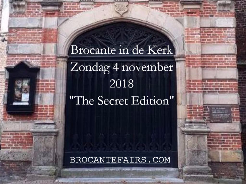 4-11-2018 BROCANTE IN WESTERKERK